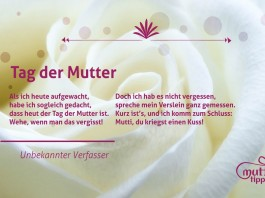 Tag der Mutter